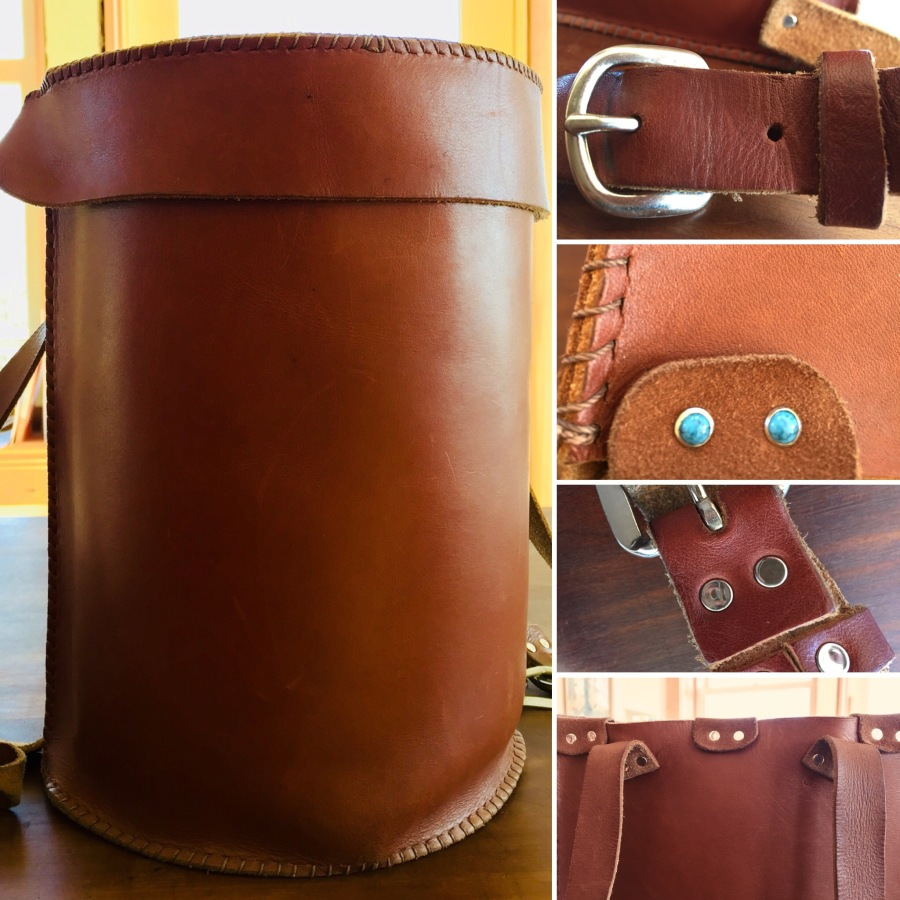 Girls 9-13 Make a Leather Backpack!